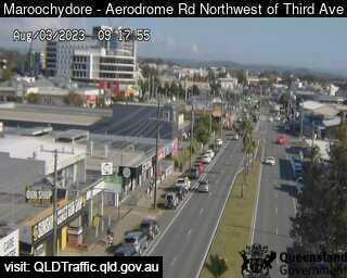 Aerodrome Road adjacent to Caltex Service Station