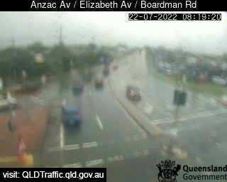 Anzac Avenue & Elizabeth Avenue & Boardman Road