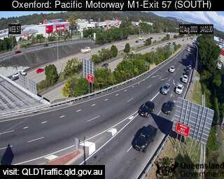 Pacific Motorway M1 Oxenford – Exit 57