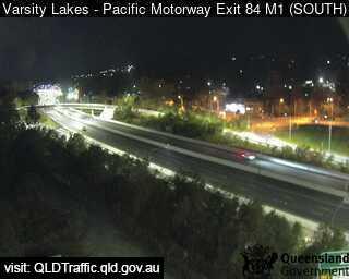 Pacific Motorway M1 Varsity Lakes – Exit 84