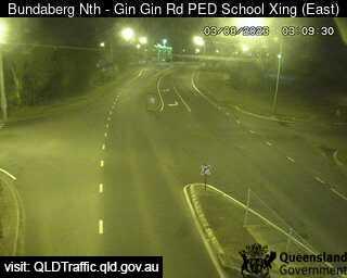 Gin Gin Road School Pedestrian Crossing